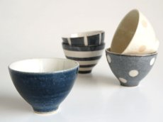 画像4: 【作山窯-SAKUZAN-】-凛- 碗 茶碗ギフトセット/二個セット/カップ/作山窯/日本製 (4)