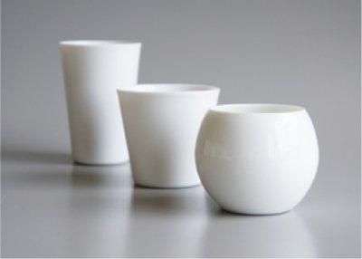 画像1: 【SALIU】ロックカップ/コップ/無地/白磁/日本製
