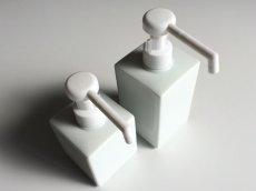 画像4: 【Square Dispenser】シャワーボトル 300ml 除菌 スクエアディスペンサー 詰替え容器 日本製 ロロ LOLO 300ml (4)