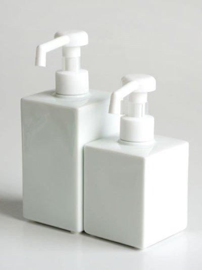 画像3: 【Square Dispenser】ミニシャワーボトル 200ml 消毒用 ポンプ 除菌 スクエア ディスペンサー 詰替え容器 日本製 ロロ LOLO 200ml