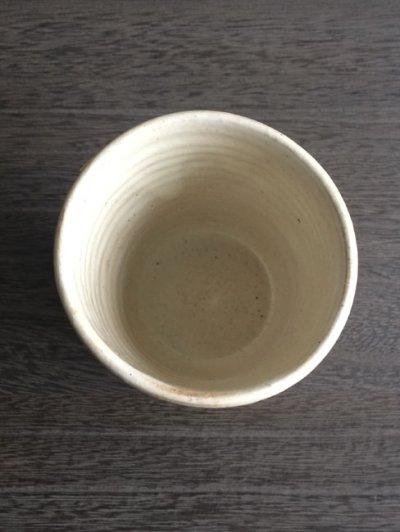 画像1: 【加藤仁志】湯呑み/タンブラー/コップ/カップ/作家/粉引き/陶器