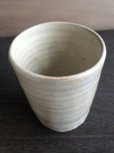 画像3: 【加藤仁志】湯呑み/タンブラー/コップ/カップ/作家/粉引き/陶器