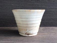 画像2: 【加藤仁志】ロックカップ/焼酎カップ/湯呑/コップ/カップ/作家/粉引き/陶器 (2)