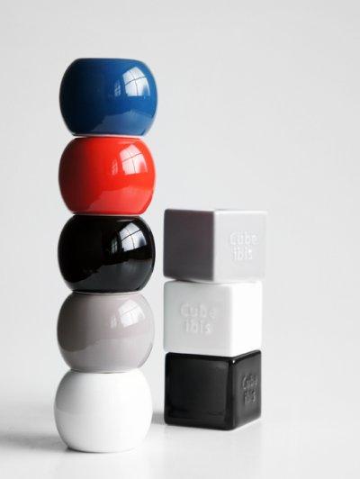 画像1: 【Globe】グローブ ワンズスタンド/底面無し/貫通/歯ブラシスタンド/ペンスタンド/ペン立て/ラウンド/丸/陶器/日本製