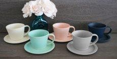 画像2: 【作山窯-SAKUZAN-】SAKUZAN DAYS Sara Cup&Saucer カップ&ソーサー/コーヒーカップ/サラ/カフェ/磁器/日本製/陶器 (2)
