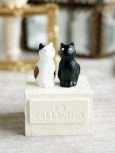 画像3: 【Neco】リングスタンド ダブル ネコc指輪置き/猫/ねこ/キャット/cat/ティーズコレクション T's COLLECTION (3)