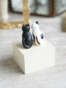 画像5: 【Neco】リングスタンド ダブル ネコc指輪置き/猫/ねこ/キャット/cat/ティーズコレクション T's COLLECTION (5)