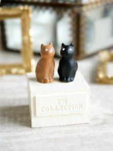 画像4: 【Neco】リングスタンド ダブル ネコc指輪置き/猫/ねこ/キャット/cat/ティーズコレクション T's COLLECTION (4)
