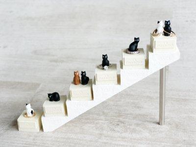 画像1: 【Neco】リングスタンド ダブル ネコc指輪置き/猫/ねこ/キャット/cat/ティーズコレクション T's COLLECTION