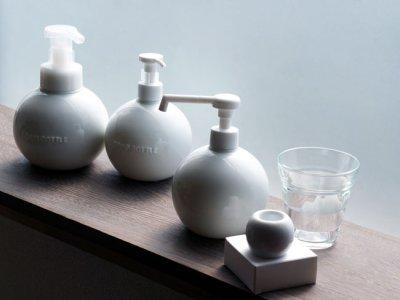画像3: 【Globe】グローブ フォームボトル ムースボトル ディスペンサー 詰替え容器 ラウンド 丸 泡ポンプ 陶器 磁器 日本製 ロロ LOLO