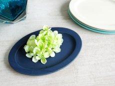 画像1: 【作山窯-SAKUZAN-】SAKUZAN DAYS Sara オーバル M 23.5cm/Oval  M/お皿/ディナープレート/中皿/サラ/カフェ/磁器/日本製/陶器 (1)
