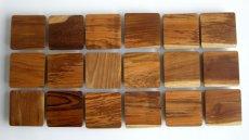 画像5: 【TEAK WOOD】ランチプレート ラウンド L 27cm カップホルダー有り  丸/トレー プレート トレイ チーク材 木製 ウッド 天然木 インスタ (5)