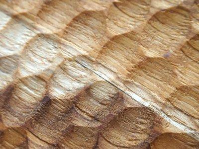 画像2: 【TEAK WOOD】デザインランチプレート ラウンド L 27cm/カップホルダー/丸/トレー/プレート/トレイ/チーク材/木製/ウッド/天然木/インスタ