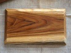 画像3: 【TEAK WOOD】デザインランチプレート スクエア M 25cm/四角/丸/トレー/プレート/トレイ/チーク材/木製/ウッド/天然木/インスタ (3)