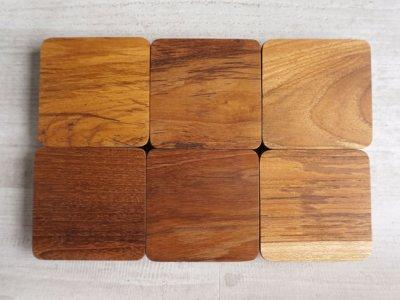 画像2: 【BS】キャニスター  BS01/チーク材/キューブ/陶器製/日本製/ロロ/LOLO/保存容器/カフェ/アンティーク風