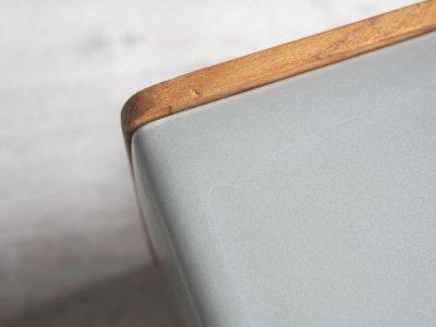 画像3: 【BS】キャニスター  BS01/チーク材/キューブ/陶器製/日本製/ロロ/LOLO/保存容器/カフェ/アンティーク風