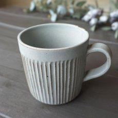 画像2: 【SALIU】マグ SA00 280ml/白/灰/黒/ホワイト/グレー/ブラック/マグカップ/コップ/サリュウ/削ぎ/陶器/日本製 (2)