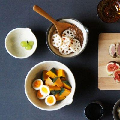 画像3: 【SHIKIKA】片口すり鉢 大 白/ホワイト/擂り鉢/すり潰す/美濃焼/陶器/日本製/LOLO