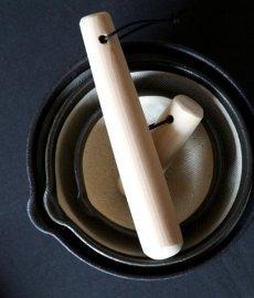 画像2: 【SHIKIKA】片口すり鉢 大 白/ホワイト/擂り鉢/すり潰す/美濃焼/陶器/日本製/LOLO (2)