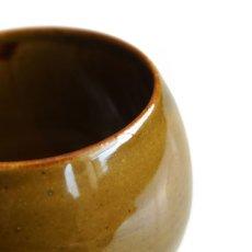 画像3: 【SHIKIKA】ころころ 大 焼酎カップ ハーフ スカイブルー・ブラウン/みず・茶色/カップ/コップ/湯のみ/コロコロカップ/陶器製/日本製 270ml (3)