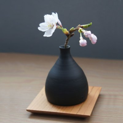 画像2: 【SALIU】RYO-凌- 手作り 一輪挿し/花器/花瓶/伝統工芸士/玉光陶苑/常滑焼/日本製/サリュウ