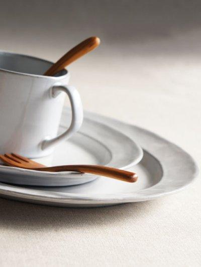 画像1: 【Saveur】サヴール オーバルプレート 16cm/楕円/小皿/取り皿/黒土/グレイ/カフェ/ロロ/日本製