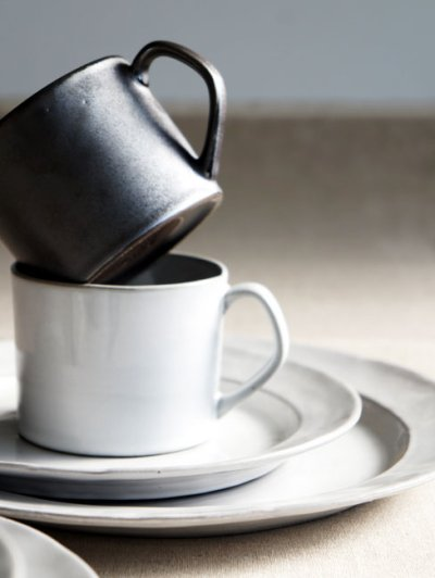 画像2: 【Saveur】サヴール ストレートマグ/マグカップ/コップ/黒土/グレイ/カフェ/ロロ/日本製