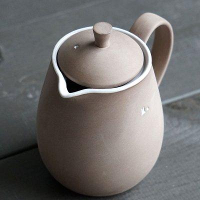 画像3: 【Mom】MOM Cafe ポット /ナチュラルカラー/丸い/陶器/日本製