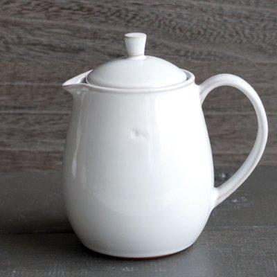 画像2: 【Mom】MOM Cafe ポット /ナチュラルカラー/丸い/陶器/日本製