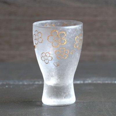 画像1: 【THE Premium NIPPON Taste】枡酒グラス 桜 1個販売/ガラス/日本酒グラス/ガラス食器/ギフト/プレゼント/記念日/お祝い/石塚硝子