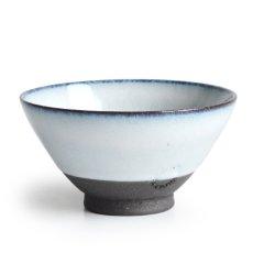 画像1: 【SALIU】飯碗 SA01 大 白 お茶碗 ごはん碗 夫婦茶碗 陶器/日本製 (1)
