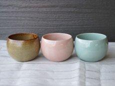 画像3: 【SHIKIKA】ころころ 小 煎茶カップ コップ 湯のみ コロコロカップ 陶器製 日本製 180ml (3)