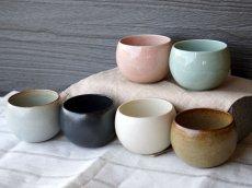 画像6: 【SHIKIKA】ころころ 小 煎茶カップ コップ 湯のみ コロコロカップ 陶器製 日本製 180ml (6)