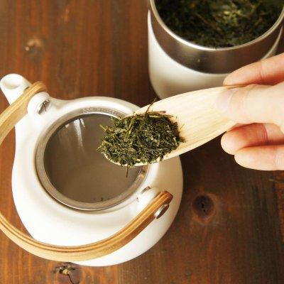画像2: 【SALIU】TSUKECHI 茶さじ 山桜 ティースプーン 茶葉 木製 天然木 日本製 LOLO ロロ