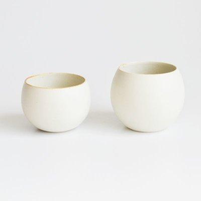 画像3: 【SHIKIKA】ころころ 小  煎茶カップ コップ 湯のみ 陶器製 日本製 180ml ロロ LOLO