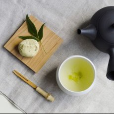 画像2: 【SALIU】TSUKECHI 茶敷 角 山桜 四角 茶托 小皿 木製 天然木 日本製 LOLO ロロ (2)