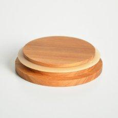 画像2: 【部品販売】木蓋 キャニスター専用木蓋 チーク 単品販売 (2)