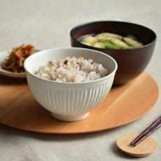画像2: 【SALIU】飯碗 SA00 白  ホワイト お茶碗 ごはん碗 夫婦茶碗 LOLO ロロ 陶器/日本製 (2)