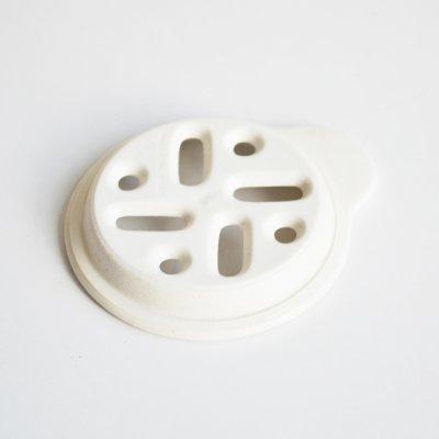 画像1: 【SHIKIKA】おろし おろし揃え 暮らしの小道具 スマートキッチン ミニアイテム おろし 大根おろし 擦りおろし ミニ 白 黒 小さい ツール 磁器 ロロ LOLO 日本製