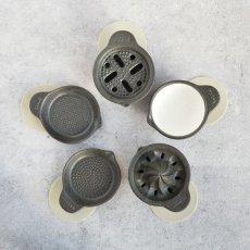 画像9: 【SHIKIKA】おろし おろし揃え 暮らしの小道具 スマートキッチン ミニアイテム おろし 大根おろし 擦りおろし ミニ 白 黒 小さい ツール 磁器 ロロ LOLO 日本製 (9)