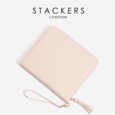 画像1: 【STACKERS】クラッチバッグ ピンク/ジュエリーケース/ブラッシュピンク/Taupe/アクセサリーケース/イギリスデザイン/ロンドン/JEWELLRY BOX (1)