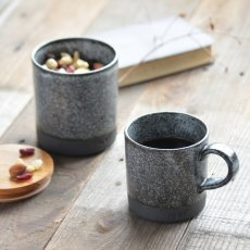 画像3: 【SALIU】キャニスター SA01 チーク材 ホワイト 白 ブルー 青 ブラック 黒 サリュウ 木蓋 陶器 ロロ LOLO 美濃焼 日本製 (3)