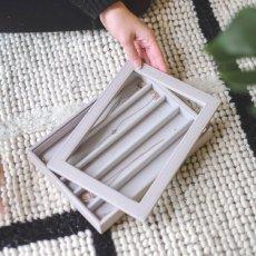 画像5: 【STACKERS】ガラス蓋 グレージュTaupe Classic Glass Display Lid ディスプレイ ジュエリーケース 重ねる 重なる アクセサリーケース/グレイベージュ/グレイ/イギリスデザイン ロンドン JEWELLRY BOX (5)