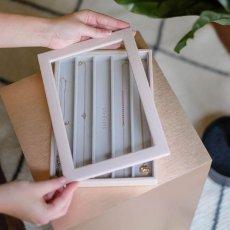 画像5: 【STACKERS】ガラス蓋 ブラッシュピンク Blush Classic Glass Display Lid  ディスプレイ ジュエリーケース 重ねる 重なる アクセサリーケース イギリスデザイン ロンドン JEWELLRY BOX (5)