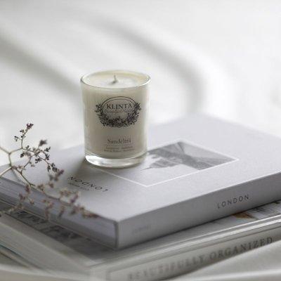 画像3: 【KLINTA】クリンタ マッサージキャンドル  90ml スウェーデン イギリス アロマキャンドル 香り ギフト メッセージ アロマ
