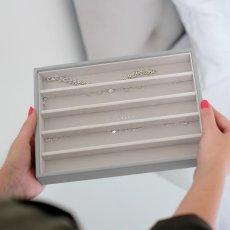 画像14: 【STACKERS】ジュエリーボックス 選べる3個セット  ペブルグレー gray グレイ グレー 蓋つき スタッカーズ ジュエリーケース ジュエリートレイ 重ねる 重なる アクセサリーケース イギリスデザイン ロンドン JEWELLRY BOX (14)