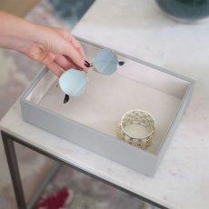 画像17: 【STACKERS】ジュエリーボックス 選べる3個セット  ペブルグレー gray グレイ グレー 蓋つき スタッカーズ ジュエリーケース ジュエリートレイ 重ねる 重なる アクセサリーケース イギリスデザイン ロンドン JEWELLRY BOX (17)
