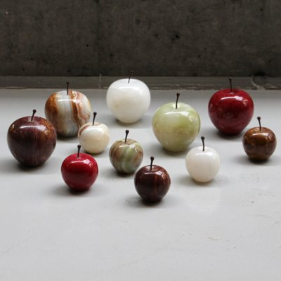 """画像1: 【DETAIL】マーブルアップル""""ホワイト/ラージ"""" Marble Apple """"White / Large"""""""