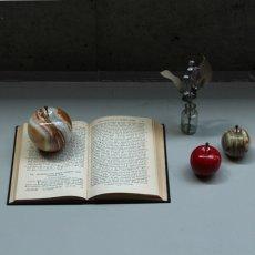 """画像4: 【DETAIL】マーブルアップル""""ホワイト/ラージ"""" Marble Apple """"White / Large"""" (4)"""