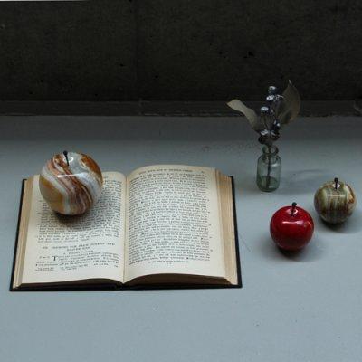 """画像2: 【DETAIL】マーブルアップル""""ホワイト/ラージ"""" Marble Apple """"White / Large"""""""